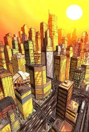 Central City (DC Comics) - Image: Central City (DC Comics)