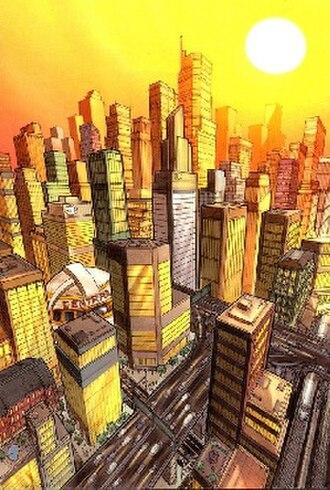Central City (DC Comics) - Image: Central City (DC Comics)