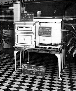 Chambers Fireless Model From 1920s