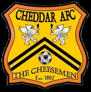 Cheddar A.F.C. - Image: Cheddar F.C. logo
