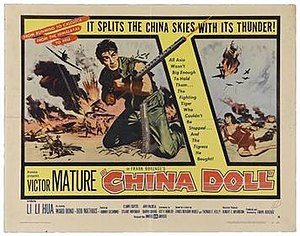 China Doll (film) - Theatrical (lobby) poster