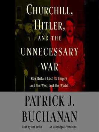 Churchill, Hitler and the Unnecessary War - Image: Churchill, Hitler and the Unnecessary War