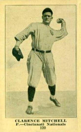 Clarence Mitchell (baseball) - Image: Clarence Mitchell baseball card