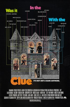Clue (film) - Image: Clue Poster