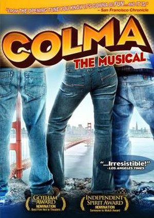 Colma: The Musical - Image: Colma The Musical Film Poster