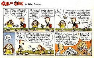 Richard Thompson (cartoonist) - Richard Thompson's Cul de Sac (October 7, 2007)