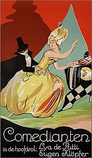 <i>Comedians</i> (1925 film) 1925 film by Karl Grune