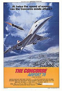 <i>The Concorde ... Airport 79</i> 1979 American disaster film directed by David Lowell Rich