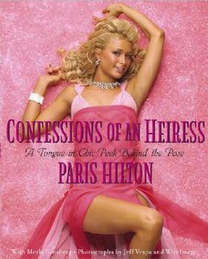 Confessions of an Heiress - Image: Confessions of an Heiress