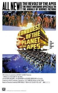 <i>Conquest of the Planet of the Apes</i> 1972 science fiction film directed by J. Lee Thompson