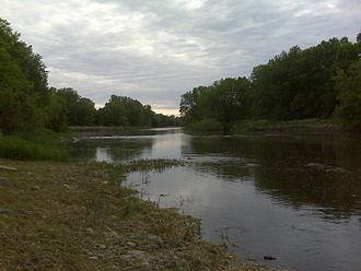 Crow River (Minnesota) - The Crow as it flows through Hanover