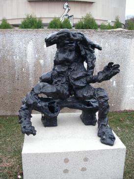 De Kooning sculpture