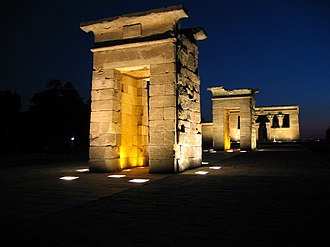 Príncipe Pío (hill) - The Debod Temple, Madrid