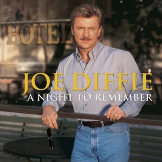 <i>A Night to Remember</i> (Joe Diffie album) 1999 studio album by Joe Diffie