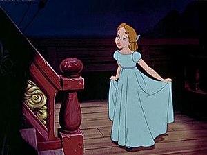 Wendy Darling as portrayed in Disney's Peter Pan.
