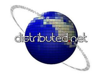 Distributed.net - The distributed.net logo