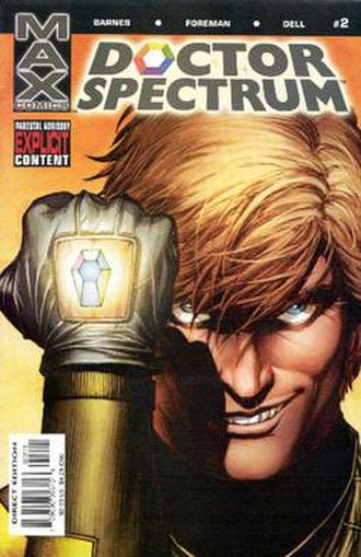 Doctor Spectrum - Image: Dr.Spectrum 2