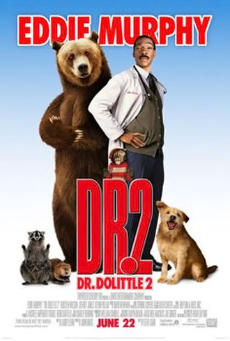 Dr. Dolittle 2 - Theatrical release poster
