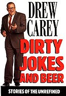 Full figure of Carey on book cover, along with the title.