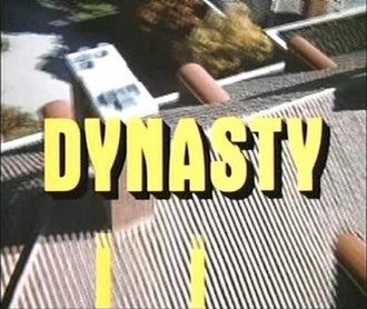 Dynasty (1981 TV series) - Image: Dynasty (1981) title card