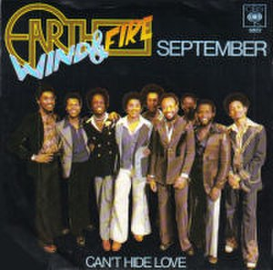 September (Earth, Wind & Fire song) - Image: Earth Wind And Fire September 7Inch Single Cover