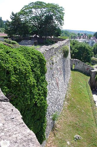 Siege of Eger (1552) - Walls of Eger Castle