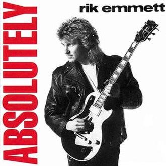 Absolutely (Rik Emmett album) - Image: Emmett Absolutely Cover