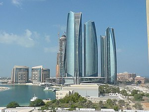Etihad Towers - Etihad Towers in November 2012