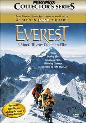 Everest (1998 film) - DVD cover