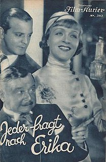 <i>Everyone Asks for Erika</i> 1931 film