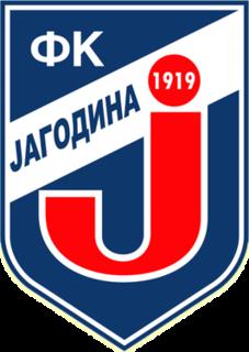 FK Jagodina association football club in Serbia