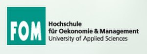 FOM University of Applied Sciences for Economics and Management - Image: FOM University Logo
