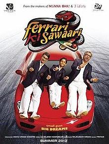 Ferrari Ki Sawaari (2012) DM - Sharman Joshi, Boman Irani, Ritwik Sahore, Paresh Rawal, Deepak Shirke, Seema Pahwa, Satyadeep Mishra, Aakash Dabhade, Nilesh Diwekar, Vijay Nikam