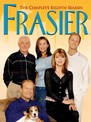 Frasier (season 8) - DVD cover
