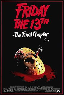 <i>Friday the 13th: The Final Chapter</i> 1984 film by Joseph Zito