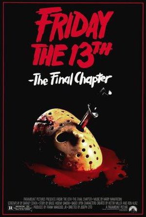 Friday the 13th: The Final Chapter - Theatrical release poster