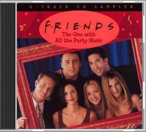 Music of Friends - Image: Friends the one with all the party music