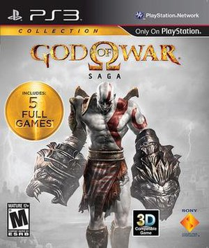 God of War video game collections - Image: God of War Saga