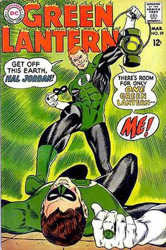 Guy Gardner (comics) - Image: Green Lantern 59 Mar 1968