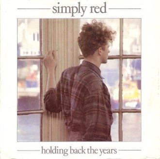 Holding Back the Years - Image: Holding Back the Years by Simply Red UK 7 inch single
