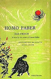 <i>Homo Faber</i> (novel) novel by Max Frisch