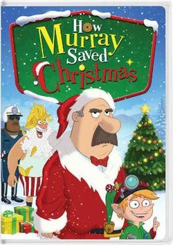 how murray saved christmasjpg dvd cover - The Night They Saved Christmas Dvd