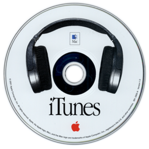 CD of iTunes v1.0 (2001)