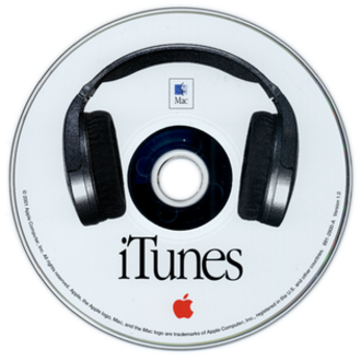 History of iTunes - iTunes v1.0 installer CD (2001)