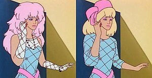 Jem (TV series) - Jem and her true identity Jerrica Benton.