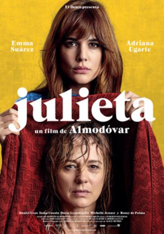 Julieta (film) - British theatrical release poster