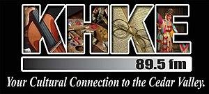 KHKE - Image: KHKE logo