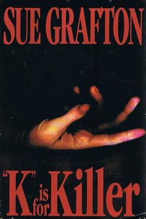 """K"" Is for Killer - Cover of the book ""K"" Is for Killer by Sue Grafton."