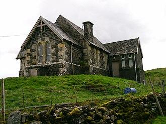 Kerrera - Image: Kerrera Church 2014