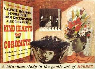<i>Kind Hearts and Coronets</i> 1949 British crime comedy film directed by Robert Hamer